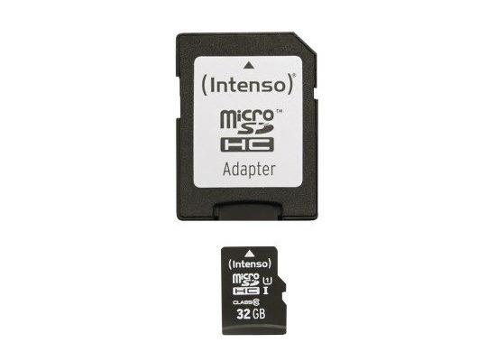 Speicherkarten, Speichermedien - Intenso Micro SD Class 10 UHS I, 32 GB fuer Acer Aspire Switch 10 V, Iconia One 10 (B3 A20B), Iconia Tab A101, Iconia Tab A200, Iconia Tab A210, Iconia Tab A500, Iconia Tab A511, Iconia Tab A701, Iconia Tab W500, Iconia Tab W501P, Iconia Tab W511P, Liquid Jade Plus, Liquid S100, Liq...  - Onlineshop Telefon.de