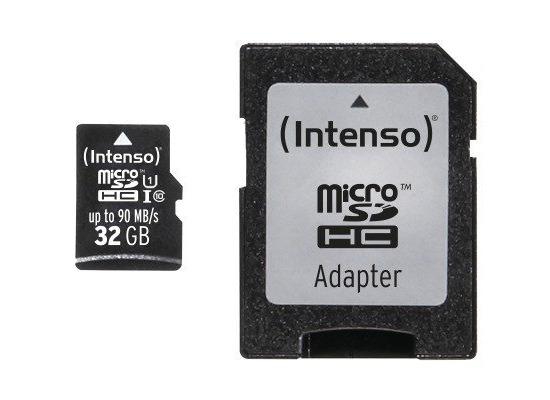Speicherkarten, Speichermedien - Intenso Micro SD UHS I Professional, 32 GB fuer Acer Aspire Switch 10 V, Iconia One 10 (B3 A20B), Iconia Tab A101, Iconia Tab A200, Iconia Tab A210, Iconia Tab A500, Iconia Tab A511, Iconia Tab A701, Iconia Tab W500, Iconia Tab W501P, Iconia Tab W511P, Liquid Jade Plus, Liquid S100, Liq...  - Onlineshop Telefon.de