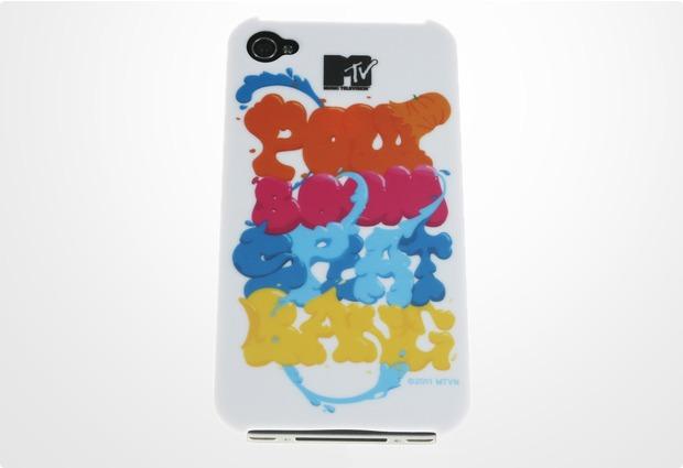 J-Straps Backclip MTV für iPhone 4, boompow