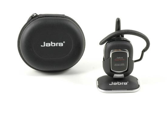 Jabra Aktion SUPREME+ Bluetooth Headset + Comfort Tasche + Tisch- und KFZ-Halterung