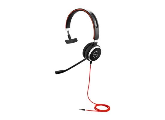 Jabra Evolve 40 UC Mono (Headset 3,5 mm Klinke)