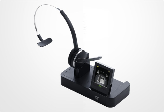 Jabra PRO 9470 mit EHS-Adapter für Alcatel IP Touch