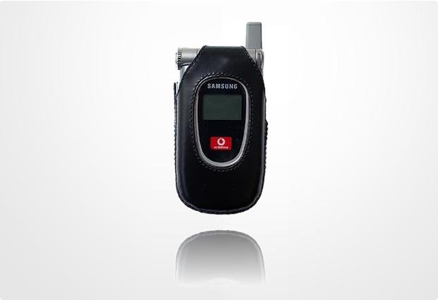 Jim Thomson Ledertasche mit Drehclip für Samsung SGH-Z105