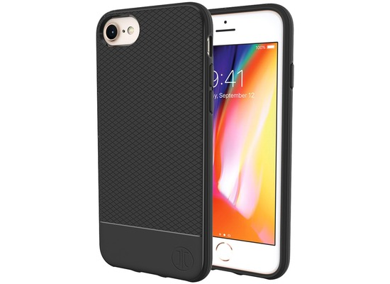 JT Berlin BackCase Pankow Soft, Apple iPhone SE 2020 / iPhone 8/7, schwarz, 10470