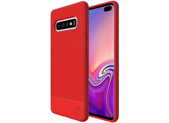 JT Berlin BackCase Pankow Soft, Samsung Galaxy S10+, rot, 10490