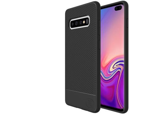 JT Berlin BackCase Pankow Soft, Samsung Galaxy S10+, schwarz, 10488
