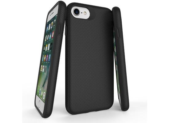JT Berlin BackCase Pankow Solid, Apple iPhone SE 2020 / iPhone 8/7, schwarz, 10506