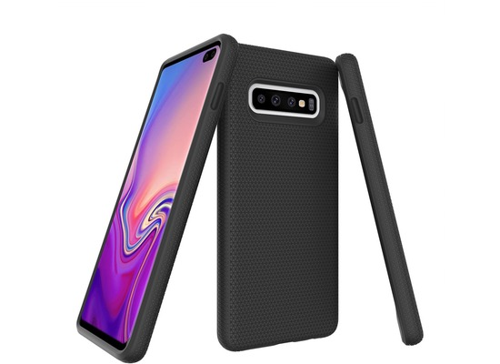 JT Berlin BackCase Pankow Solid, Samsung Galaxy S10+, schwarz, 10514