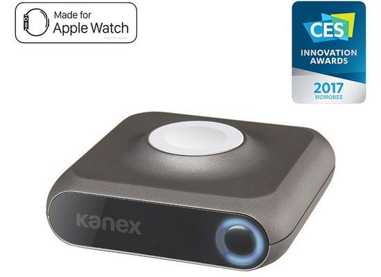 Kanex GoPower Power Bank - Apple Watch & Watch Series 2 - 4000mAh - weiß/grau