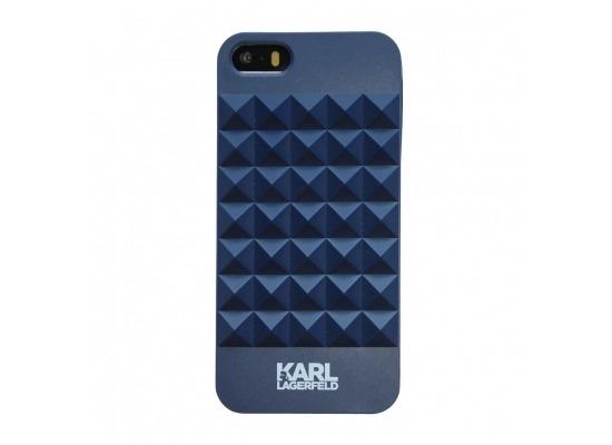 Karl Lagerfeld 3D Studs - Hart Cover/Case/Schutzhülle - Apple iPhone 5,5S