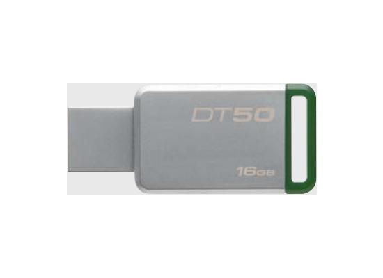 Kingston Data Traveler 50, USB 3.0, 16GB, Metal Grün