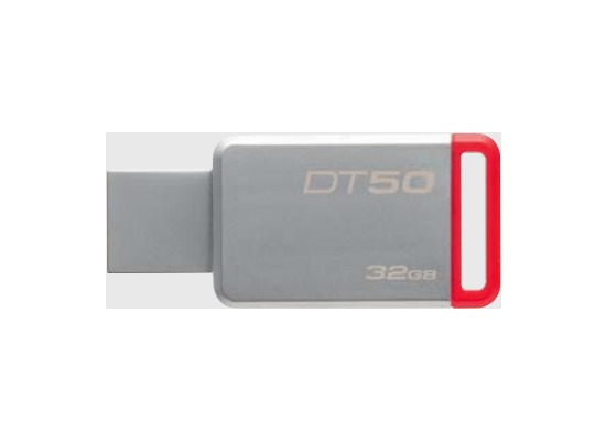 Kingston Data Traveler 50, USB 3.0, 32GB, Metal Rot