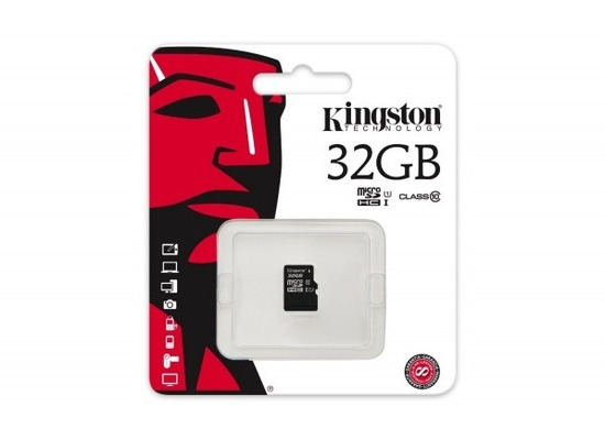 Kingston Micro-SD Card 32GB SDHC Class 4 ohne Adapter