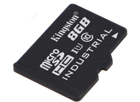 Kingston microSDHC Industrial Temp UHS-1, 8GB ohne SD Adapter
