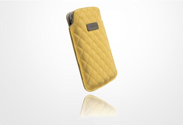 Krusell Avenyn Mobile Pouch L, gelb