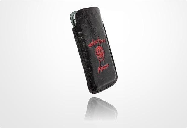 Krusell Motörheadphönes Mobile Pouch Burner L, schwarz-rot