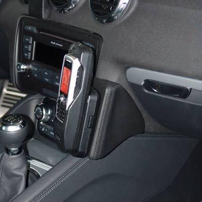 Kuda Lederkonsole für Audi TT ab 09/06 Echtleder schwarz