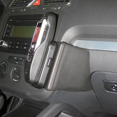 Kuda Lederkonsole für VW Eos ab 05/06 / Scirocco 08/08 Echtleder schwarz
