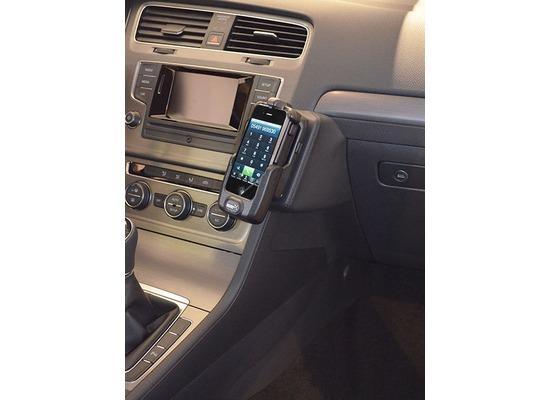 Kuda Lederkonsole für VW Golf 7 ab 11/2012 Mobilia / Kunstleder schwarz