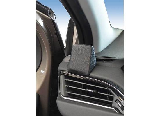 Kuda Navigationskonsole für Navi Peugeot 208 ab 04/2012 / 2008 Mobilia / Kunstleder schwarz