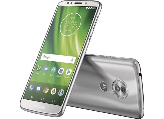 Motorola MOTO G6, Dual-SIM, silver