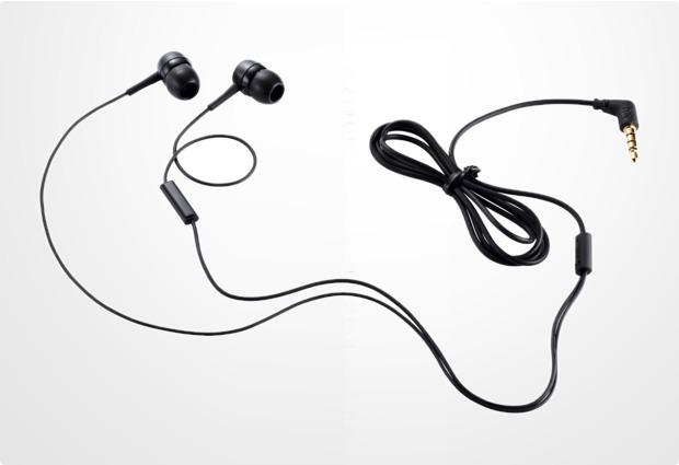 LG In-Ear Stereo Headset PHF-300, schwarz