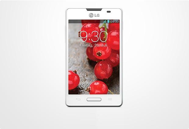 LG Optimus L4 II, weiß