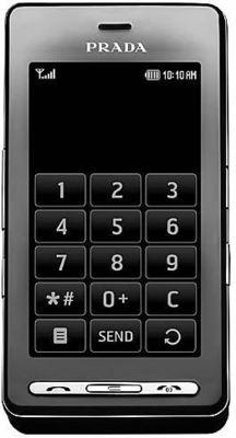 LG Prada KE850 schwarz