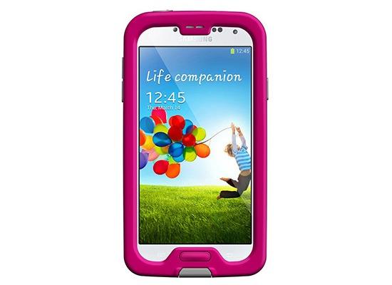 Lifeproof FRE für Samsung Galaxy S4 - Magenta/Grey