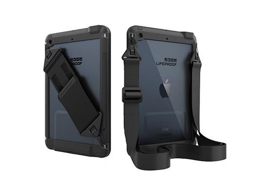 Lifeproof Hand + Schulterriemen kompatibel mit FRE/NÜÜD für Apple iPad Air 1/2 - Black