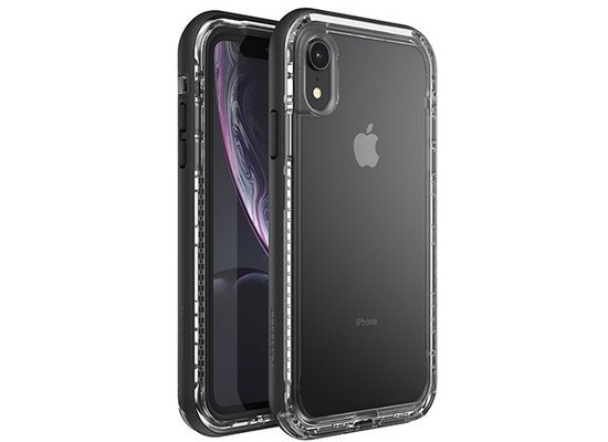 Lifeproof Backcase - Black Crystal - für Apple iPhone XR