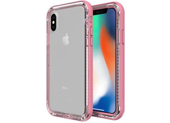 Lifeproof NËXT für Apple iPhone X, Back Cover, durchsichtig, cactus