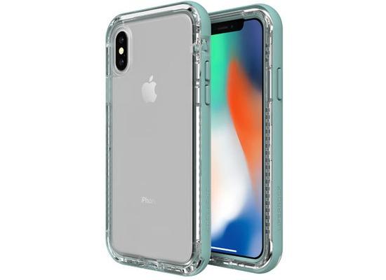 Lifeproof NËXT für Apple iPhone X, Back Cover, durchsichtig, Seaside