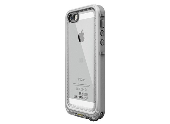 Lifeproof NÜÜD für Apple iPhone 5/5s/SE - white/clear