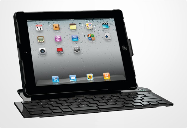 logitech fold up keyboard qwertz f r ipad 2 bei telefon. Black Bedroom Furniture Sets. Home Design Ideas