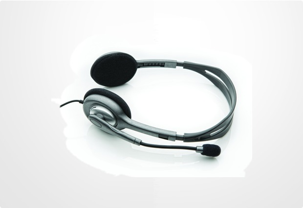 Logitech® PC Stereo Headset H110