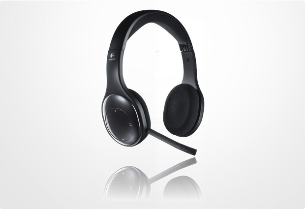 Logitech® Wireless Headset H800, schwarz