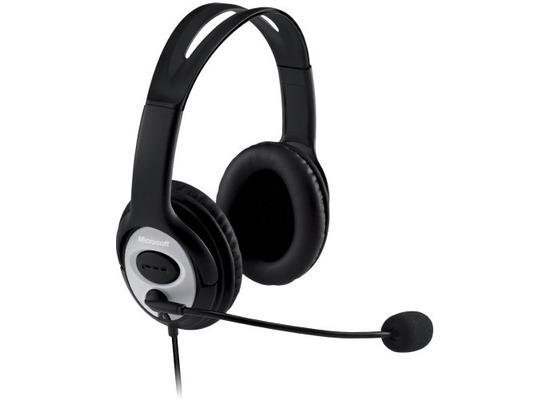 Microsoft LifeChat LX-3000 Kopfhörer (Skype zertifiziert) für PC