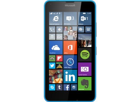 Microsoft Lumia 640 LTE, cyan