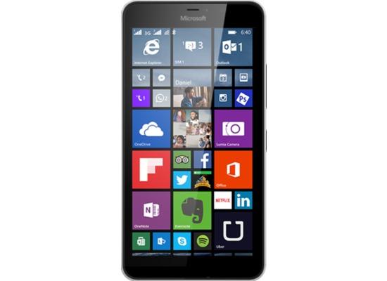 Microsoft Lumia 640 XL, white