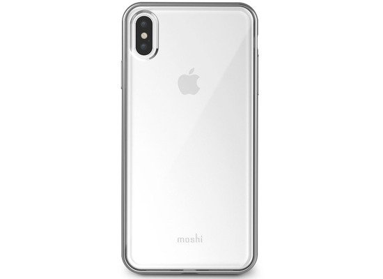 Moshi Vitros Apple iPhone XS Max silber