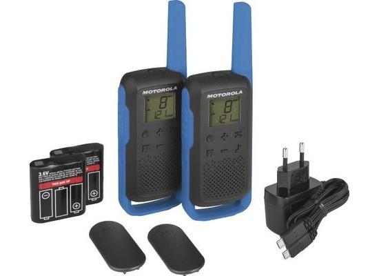 Motorola Funkgerät PMR Talkabout T62, blau