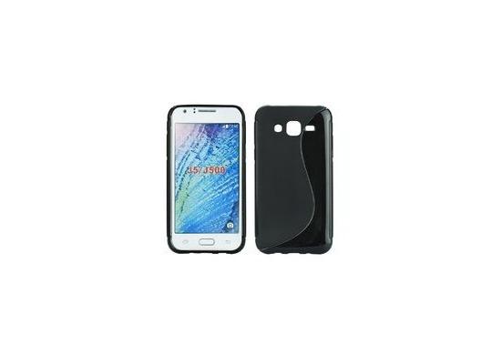 my-eXtra Back Case S für Samsung Galaxy J5 - schwarz