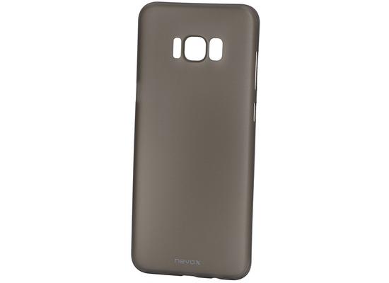 nevox StyleShell Air Samsung S8 Plus, schwarz-transparent