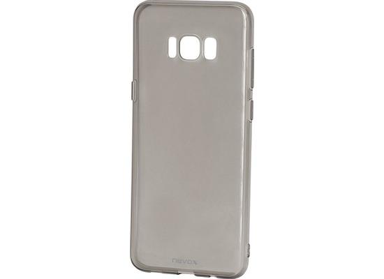 nevox StyleShell Flex Samsung Galaxy S8+ schwarz-transparent