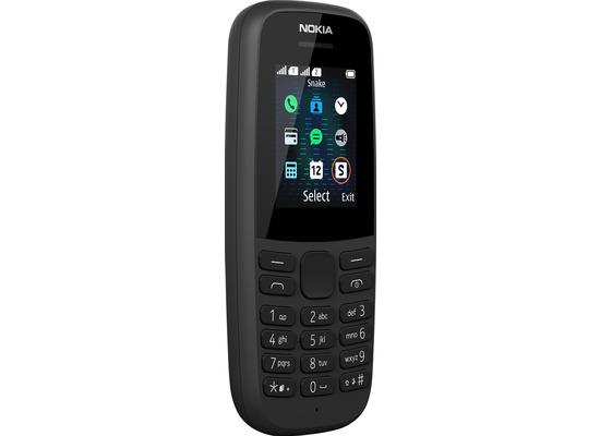 Nokia 105 Dual-SIM (2019) black
