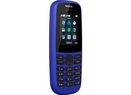 Nokia 105 Dual-SIM (2019) Blue