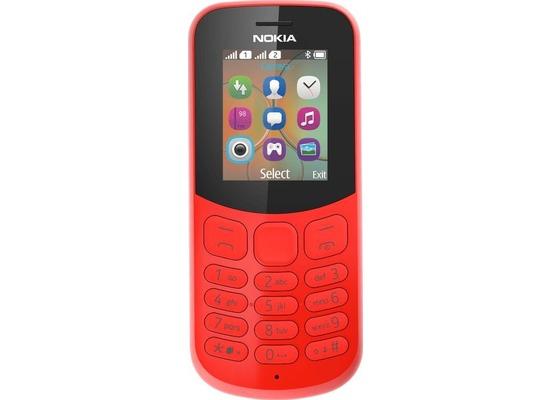 Nokia 130 Dual SIM, red