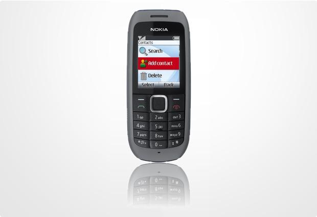 Nokia 1616 dunkelgrau