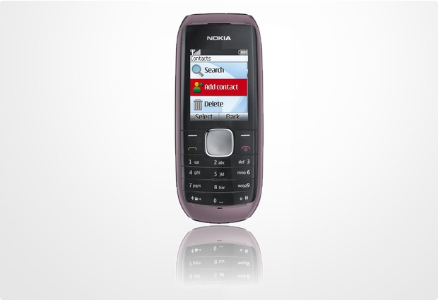 Nokia 1800 orchid red